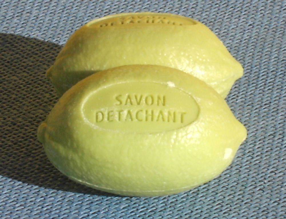 Gallseife in Limonenform  Fleckenseife  100 g