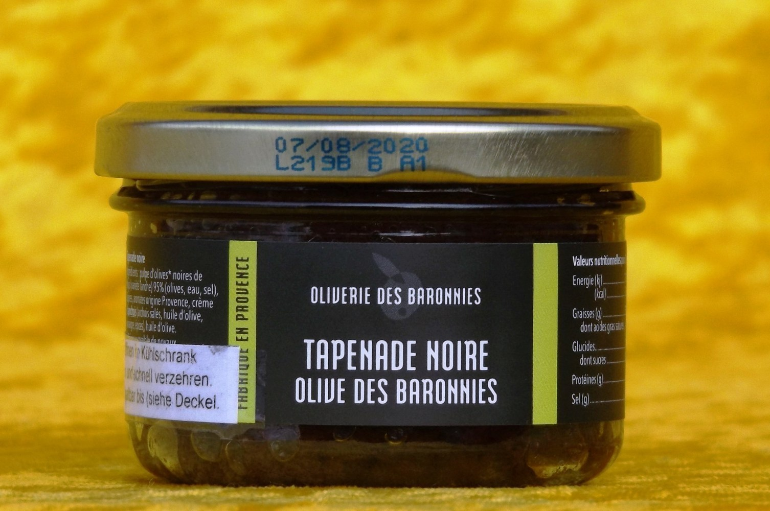 Tapenade Oliverie des Baronnies 90 g