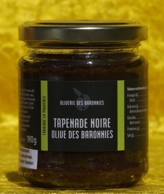 Tapenade Oliverie des Baronnies 180 g