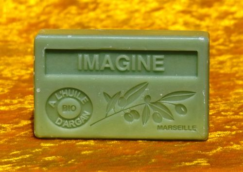 Imagine Seife Savon de Marseille mit Bio-Arganöl